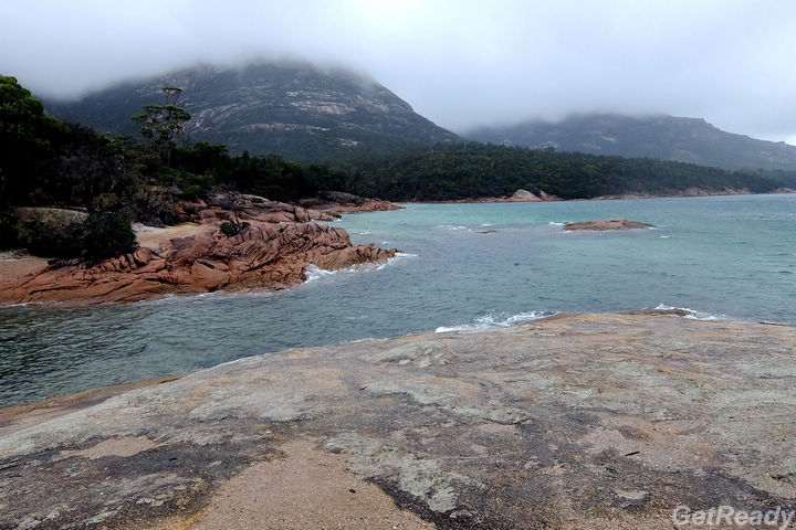 Honeymoon Bay.Cape Tourville.菲欣納國家公園