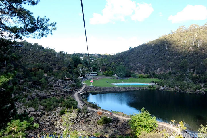 Cataract Gorge Reserve吊車