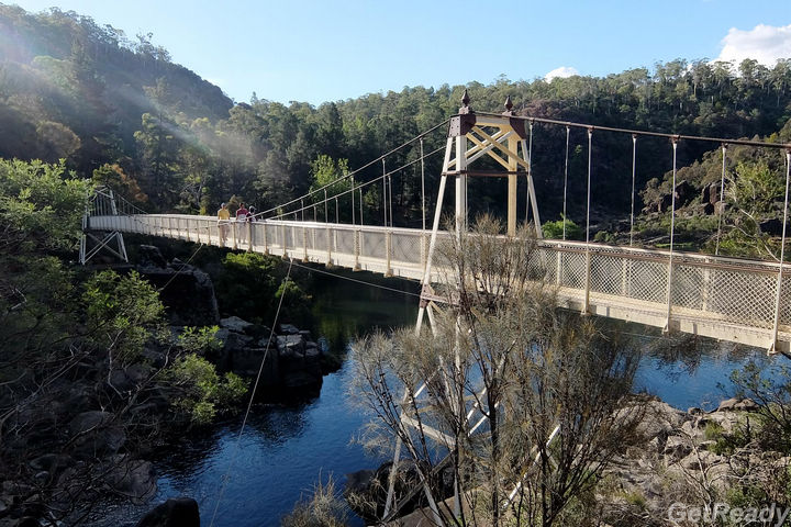 First Basin.Cataract Gorge Reserve.塔斯曼尼亞