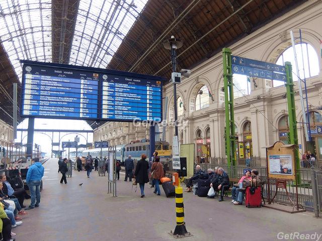 布達佩斯到維也納火車