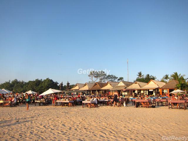金巴蘭沙灘海鮮燒烤
