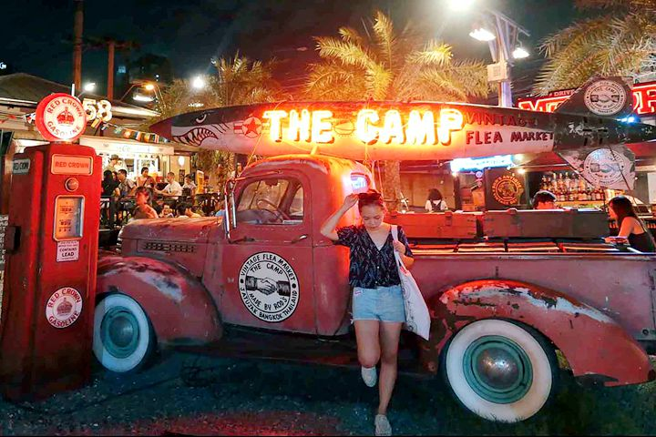 The Camp Vintage Flea Market.曼谷恰圖恰夜市