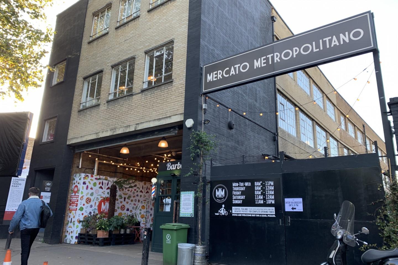 Mercato Metropolitano Market 倫敦