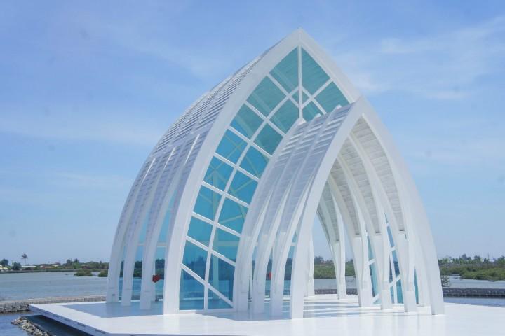 水晶教堂 台南 北門區