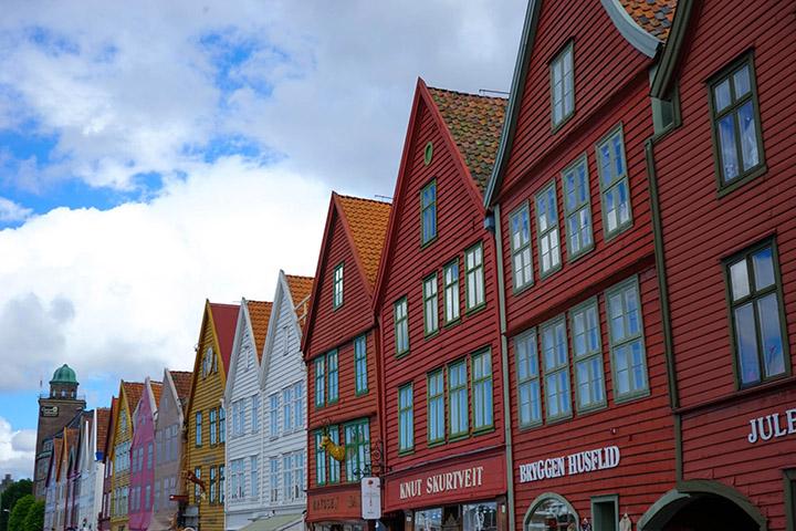 布呂根 Bryggen.卑爾根旅遊