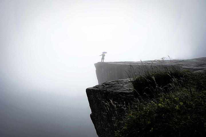 聖壇岩 挪威