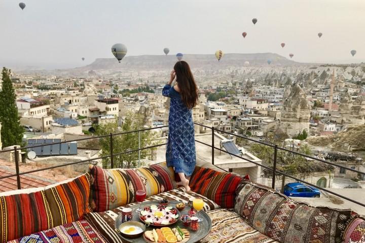卡帕多奇亞 熱氣球 土耳其