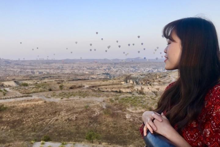 熱氣球 卡帕多奇亞 土耳其