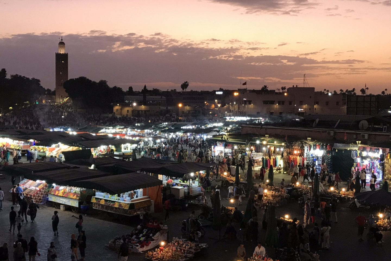 Jemaa el-Fnaa 摩洛哥