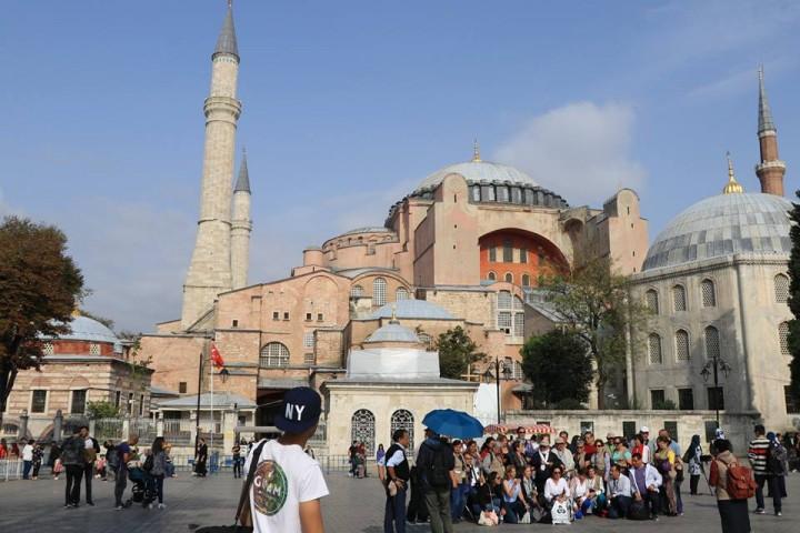 聖索菲亞大教堂.伊斯坦堡必遊博物館.土耳其自由行