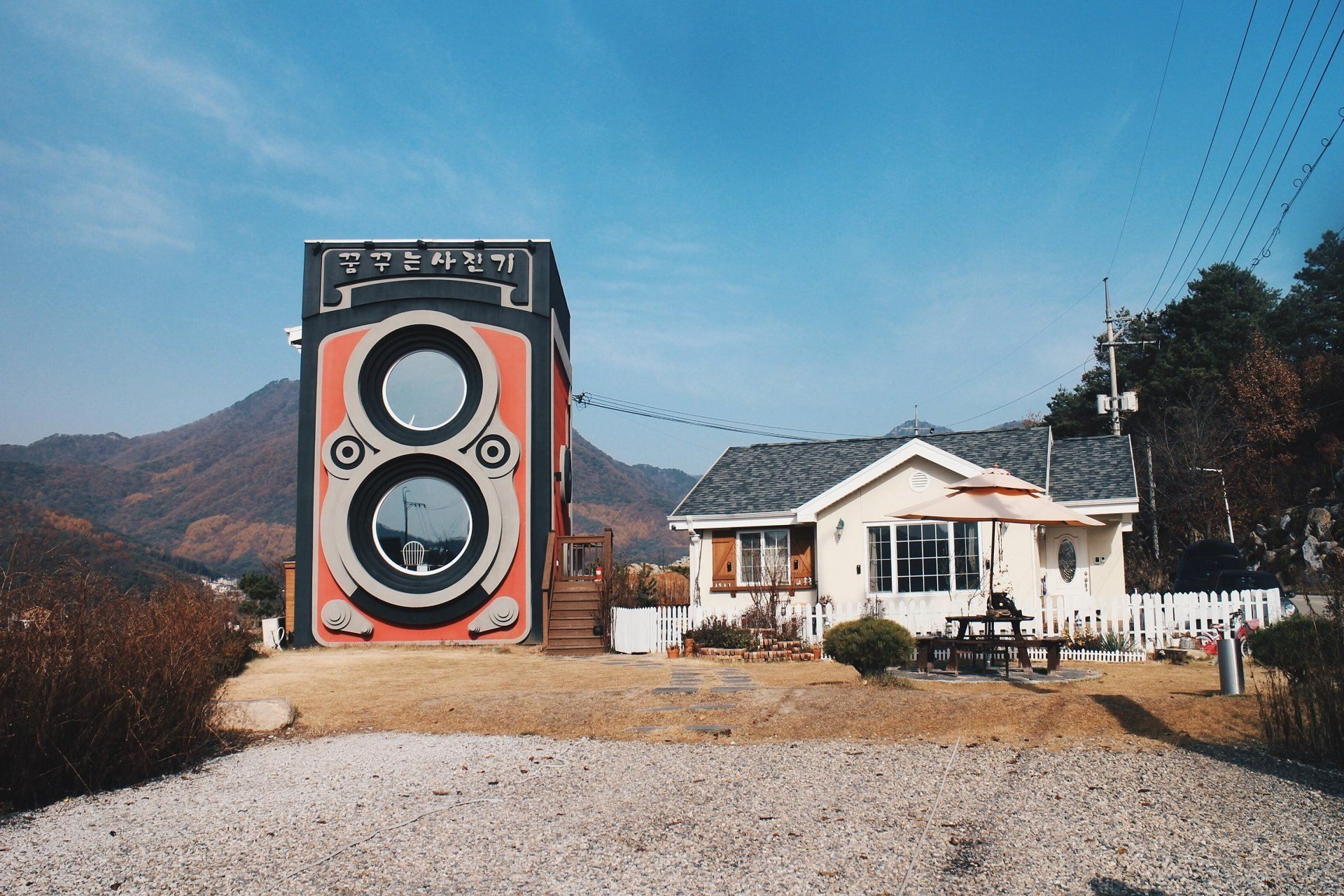 作夢的相機咖啡館.首爾相機咖啡館