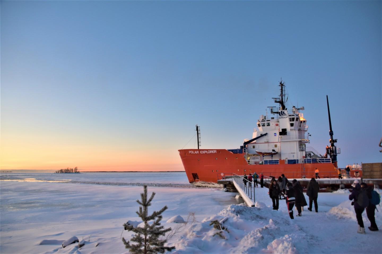 芬蘭破冰船Local Tour