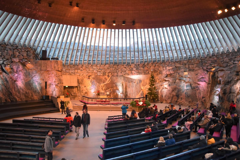 聖殿廣場教堂 芬蘭岩石教堂