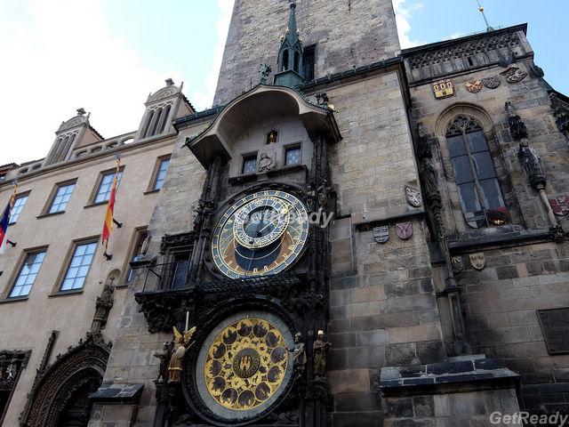 布拉格舊市政廳.天文鐘