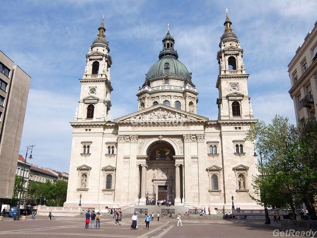 聖史蒂芬大教堂.布達佩斯