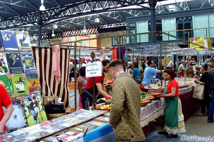 Spitalfields Market 創意市集