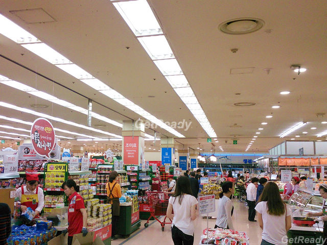 Lotte Mart 樂天超市首爾站