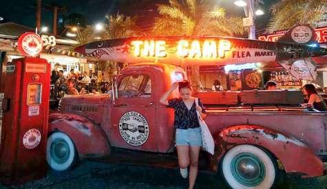 The Camp Vintage Flea Market.恰圖恰復古工業風新夜市.曼谷自由行