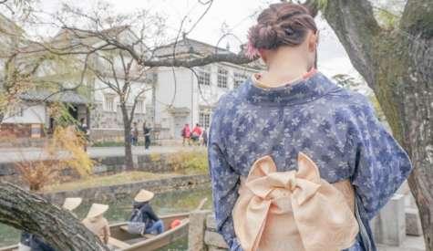 倉敷美觀地區.和服體驗.日本自由行