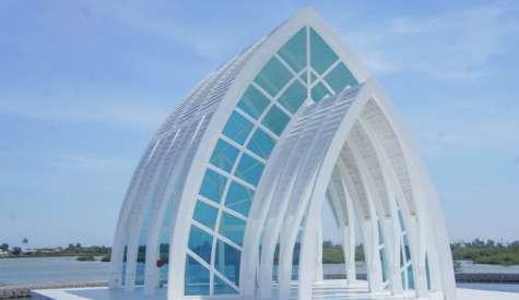 水晶教堂.北門區一天遊.台南自由行