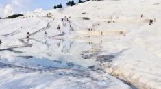 土耳其棉花堡.雪以外的白色國度