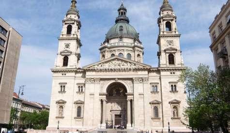 聖史蒂芬大教堂.布達佩斯自由行