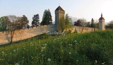 慕西格城牆.琉森.瑞士自由行