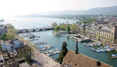 蘇黎世湖.蘇黎世.瑞士自由行